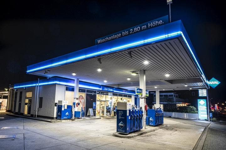 Aral Tankstelle in Wilndorf